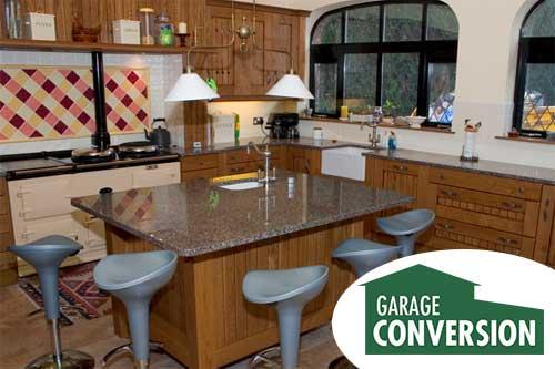 Minimalist Garage Converted Into A Kitchen Ideas: Kitchen
